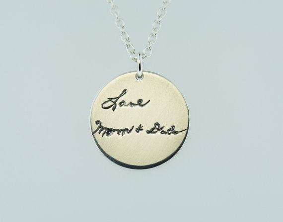 Engraved Necklaces Other First Birthday Gifts