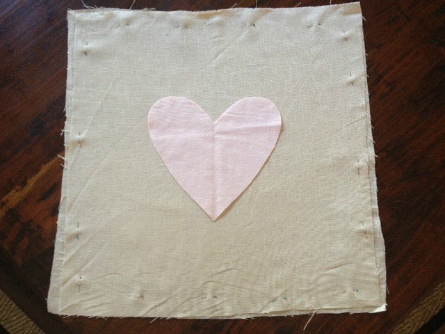 How To Make A Simple Valentine Heart Pillow Grape Did It