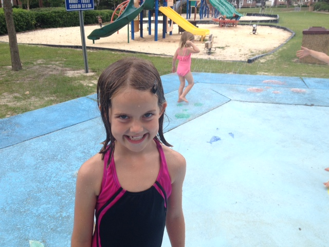 Grape Did It - Ella splash pad
