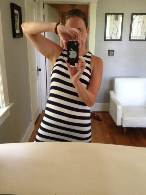 Grape Did It - striped dress Target 2