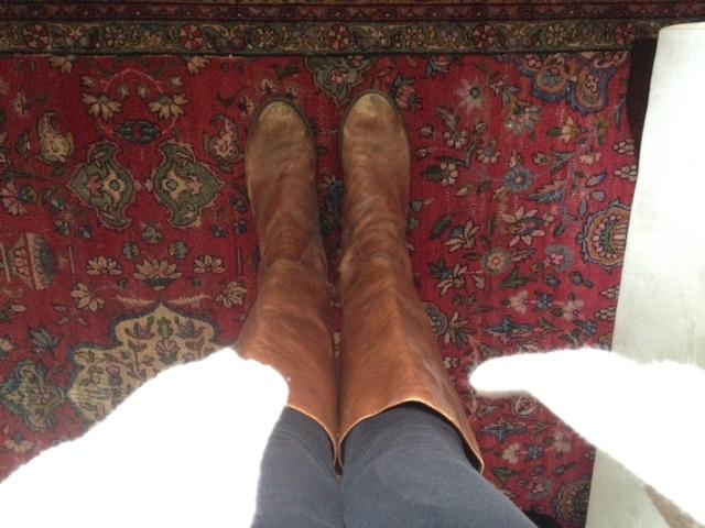 Grape Did It - rider boots