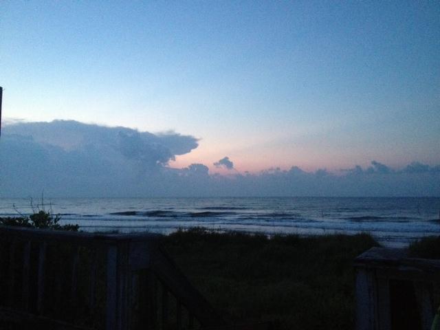 Grape Did It - Folly beach sunrise