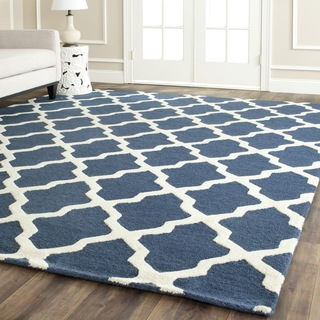Cara's room blue rug