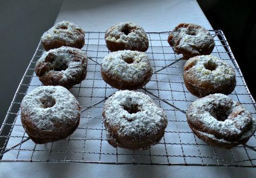 GDI - pumpkin donuts