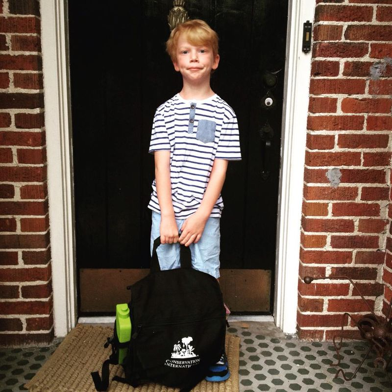 GDI - Truett first day, 1st grade