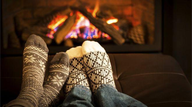 GDI - socks fire hygge