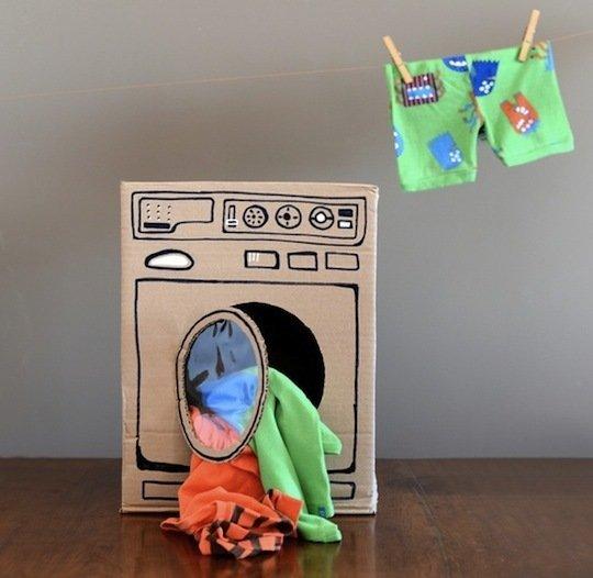 GDI - cardboard laundry