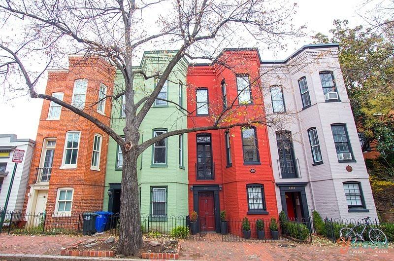 GDI - Georgetown houses