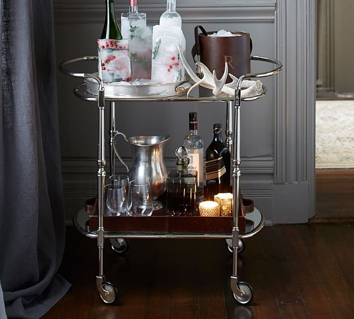 Grape Did It - bar cart thekitchn
