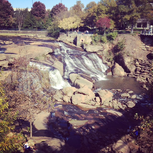 Grape Did It -Greenville waterfall