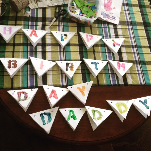 GDI - birthday bunting