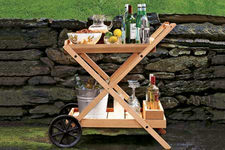GDI - outdoor bar cart