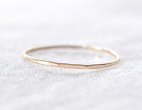 GDI - gold stacking ring