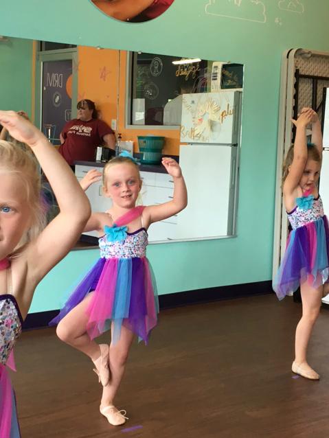 GDI - June ballet pose