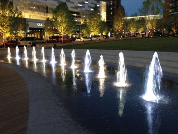 GDI - Mosaic District fountain