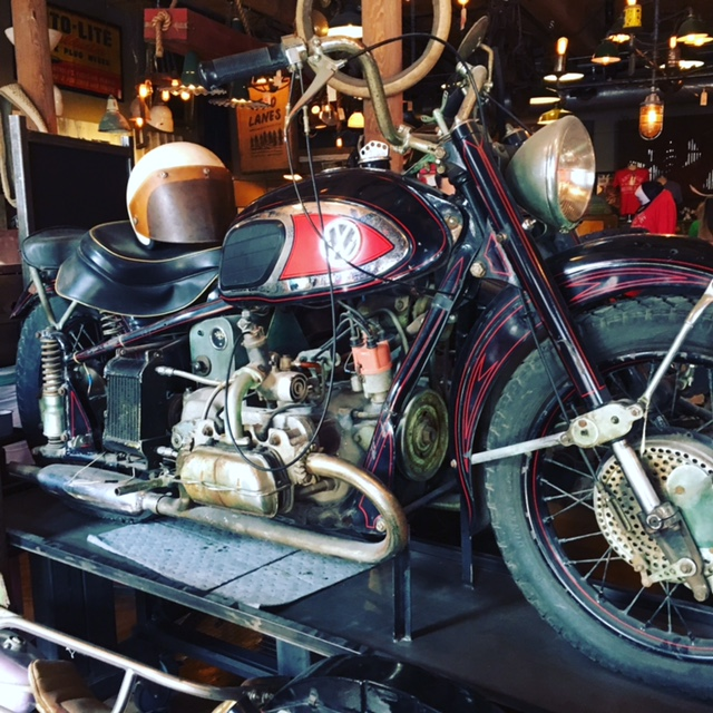 GDI - old motorcycle