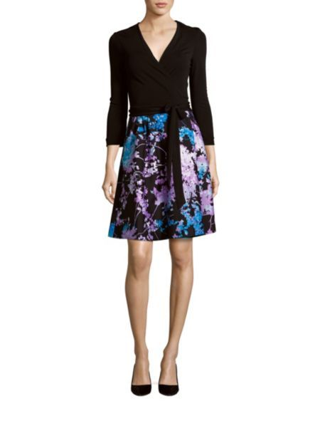 GDI - DVF wrap dress SO5th