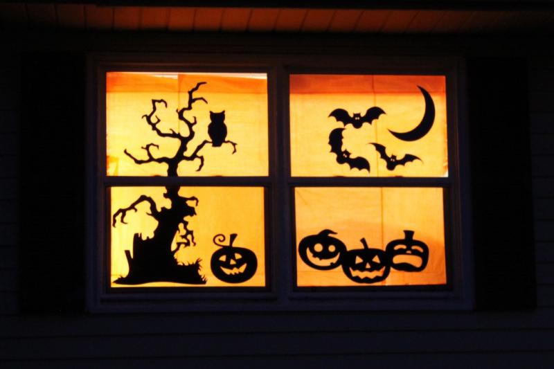 GDI - Halloween sillouettes