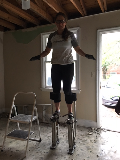 Hope contractor stilts