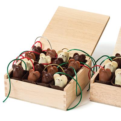 Burdick's chocolate mice