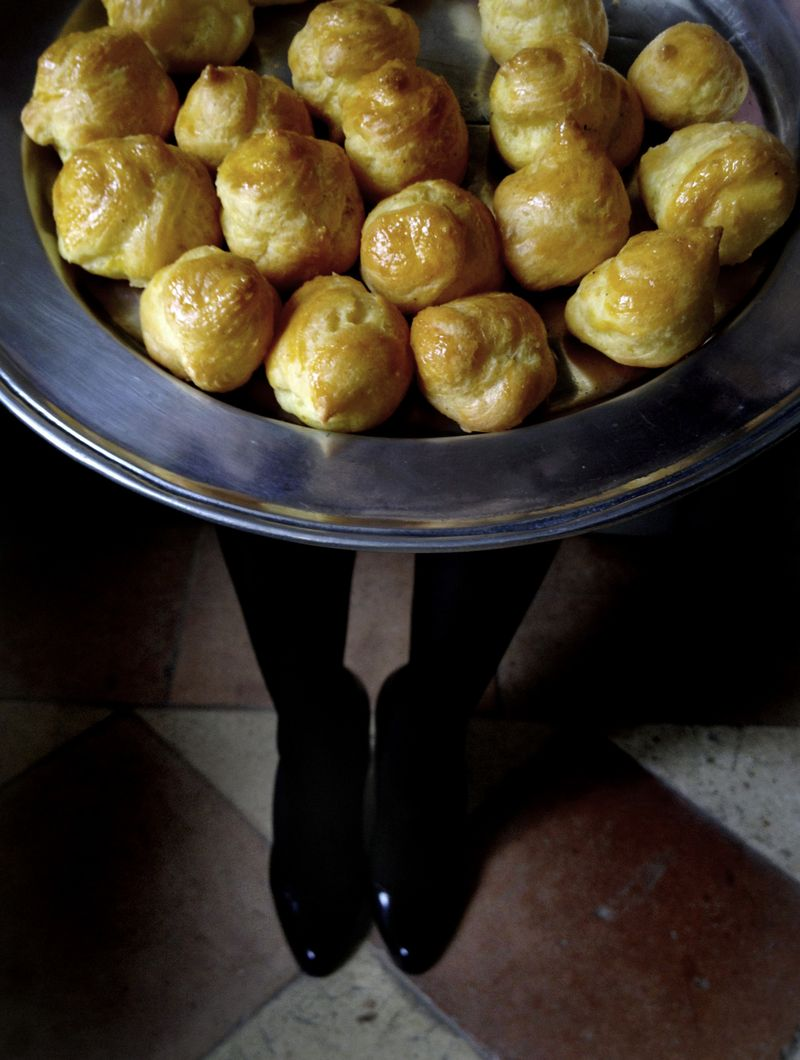 Grape Did It - Manger gougeres