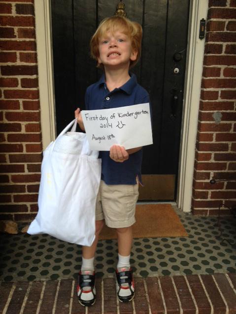 GDI - Truett 1st day kindergarten