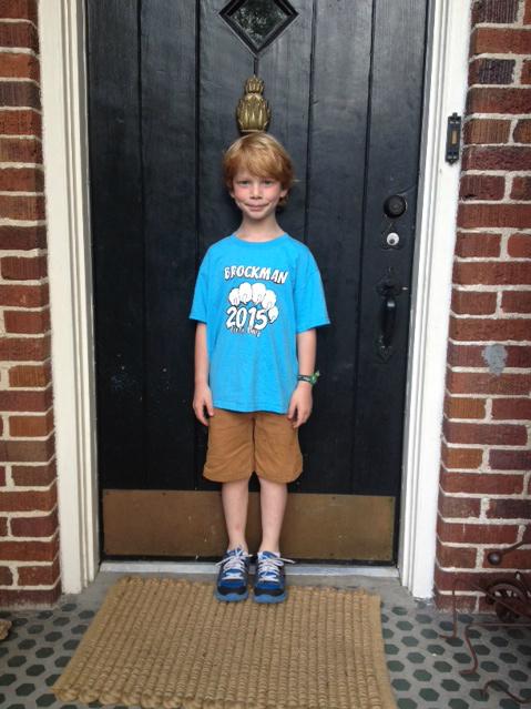 GDI - Truett last day kindergarten
