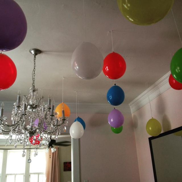 GDI - T birthday balloons