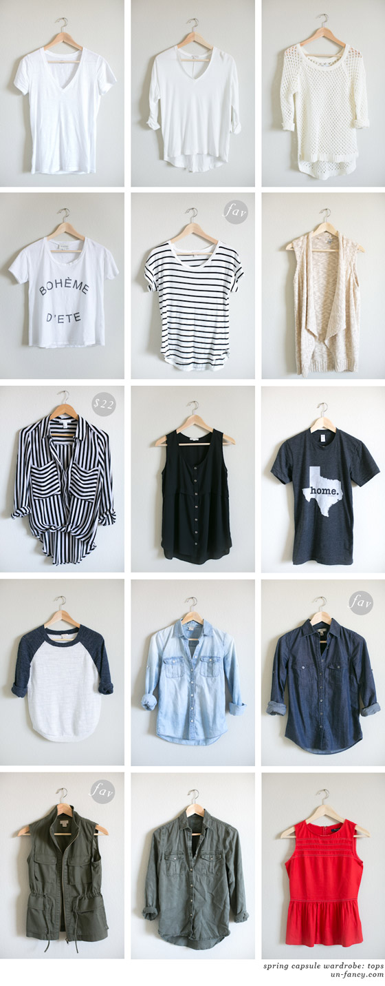 GDI - un-fancy capsule wardrobe