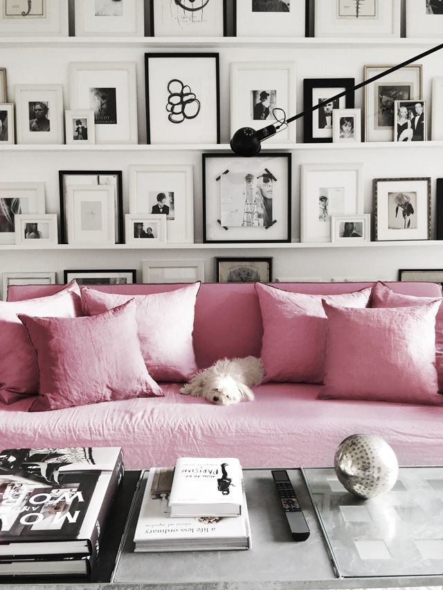Gdi Pink Couch Elements Of Style