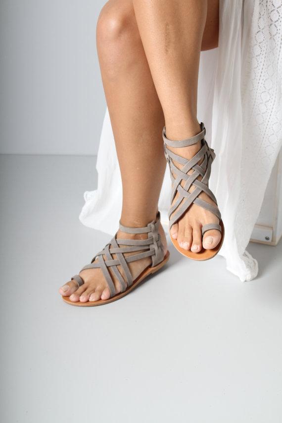 GDI - handmade sandals leather