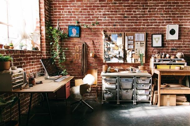 Art Studio 2 Apartment Therapy