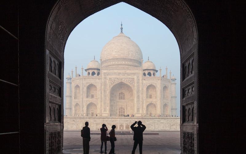 India Taj Mahal T&L