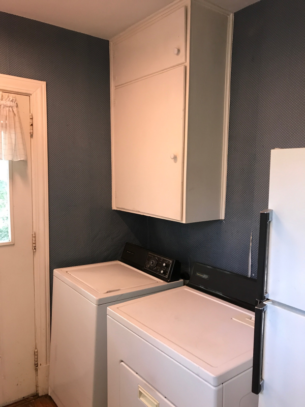 1228 kitchen before washer dryer
